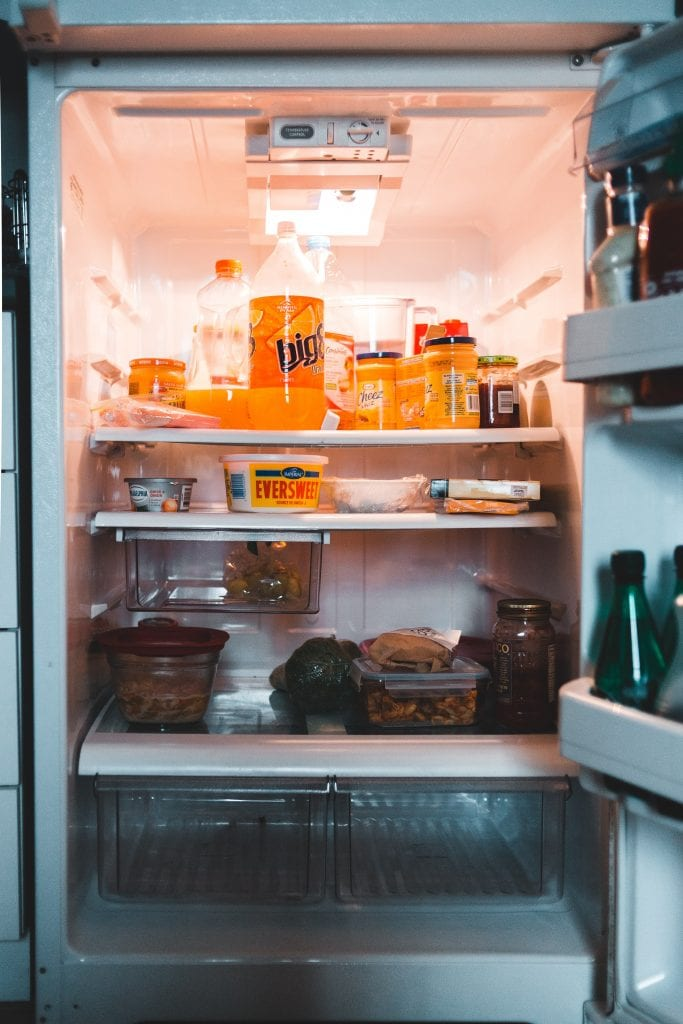 dont forget to clean your refrigerator often to prevent odors