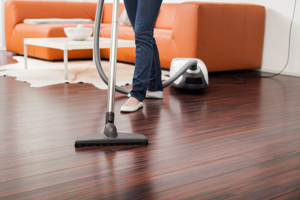Carpets and floors can hold odors if left dirty.