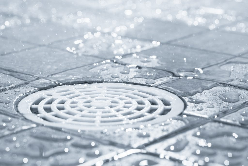 Kitchen and bathroom drains often contain bad odors if left uncleaned frequently.